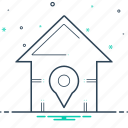 app, application, home, location, map icon