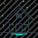 dwelling, house, premises, residence icon