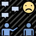 boast, brag, chatty, communication, conversational, talk, talkative