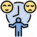 behavior, bipolar, characteristic, emotional, moody, personality