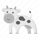 animal, cow, homemade, pet, unrealistic, zoo icon