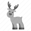 animal, deer, ungulate, unrealistic, wild, zoo icon