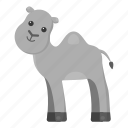 animal, camel, mammal, pet, unrealistic, zoo icon