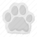 animal, cat, footprint, imprint, paw, pet, zoo icon