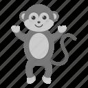animal, monkey, toy, stuffed animal