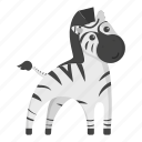 animal, fossil, ungulate, unrealistic, wild, zebra, zoo icon
