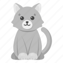 animal, cat, pet, toy, unrealistic, zoo icon