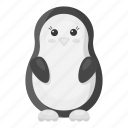animal, penguin, toy, unrealistic, zoo icon
