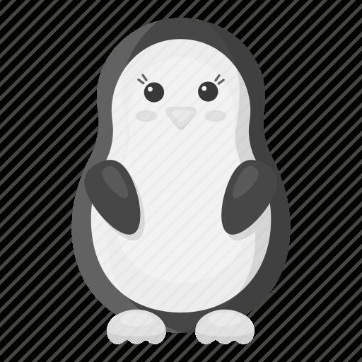 animal, penguin, toy, zoo icon