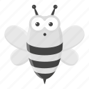 animal, bee, insect, toy, unrealistic, zoo icon