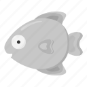 animal, fish, toy, unrealistic, waterfowl, zoo icon