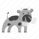 animal, bull, domestic, pet, toy, unrealistic, zoo icon