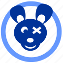 avatar, baby, bear, skin icon