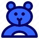 baby, bear, child, children, kid, toy, toys icon