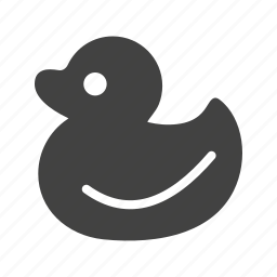 bath, duck, plastic, rubber, toy, toys, water icon