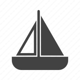 boat, paper, sailboat, ship, toy, travel, yacht icon