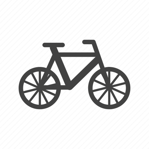 bicycle, bike, chain, frame, pedal, seat, wheel icon