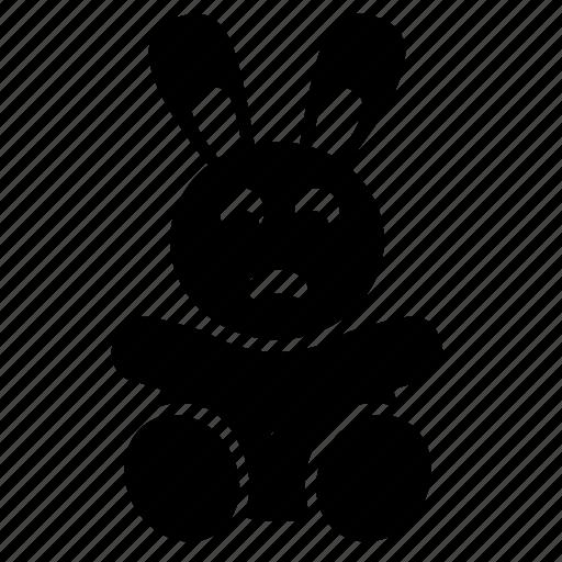 child, hare, rabbit, toy icon