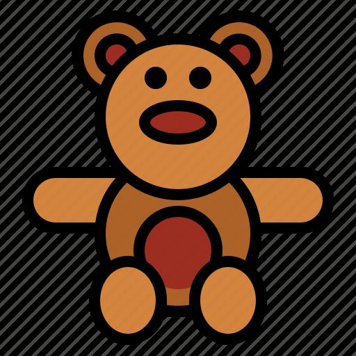 bear, teddy, teddy bear icon