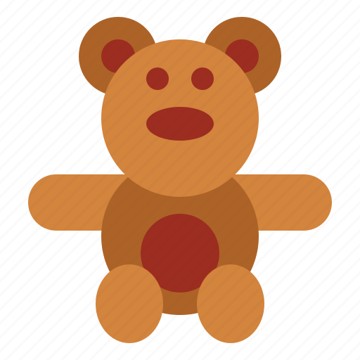 bear, teddy, teddy bear, toy icon