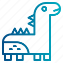 animals, dinosaur, dinosaur toy, doll, toy icon