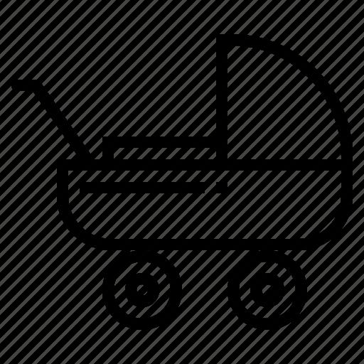 Buggy, childhood, children, pushchair, stroller icon - Download on Iconfinder
