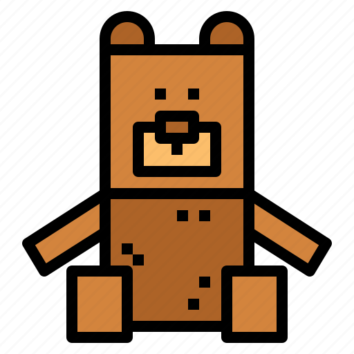 animal, bear, fluffy, teddy icon