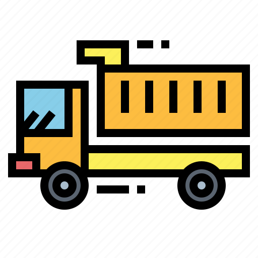 car, dump, truck, vehicle icon