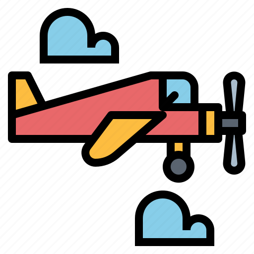 Airplane, fly, plane, transport icon - Download on Iconfinder
