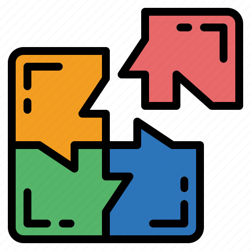 game, piece, puzzle, shape icon