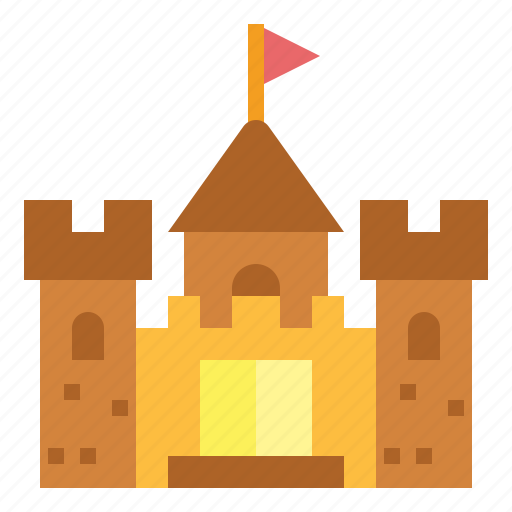 Building, castle, fortress, medieval icon - Download on Iconfinder