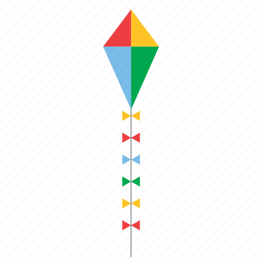 game, kids, kite, toy icon