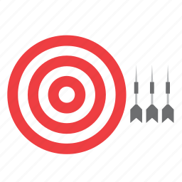 bull's eye, bullseye, centre, darts, game, target, toy icon