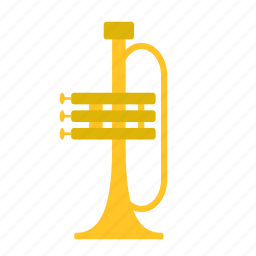 game, instrument, kids, music, musical, toy, trumpet icon