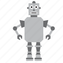 game, humanoid, kids, metal, robot, toy, toys icon