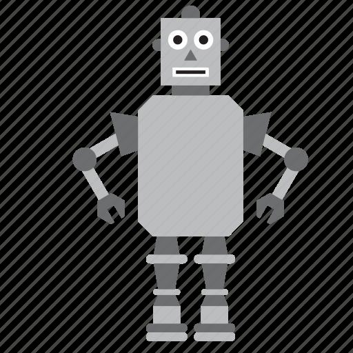game, humanoid, kids, metal, robot, toy, toys icon