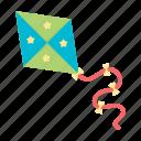 air kite, children, entertainment, game, pear, toy icon