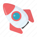 children, entertainment, game, play, rocket, toy icon