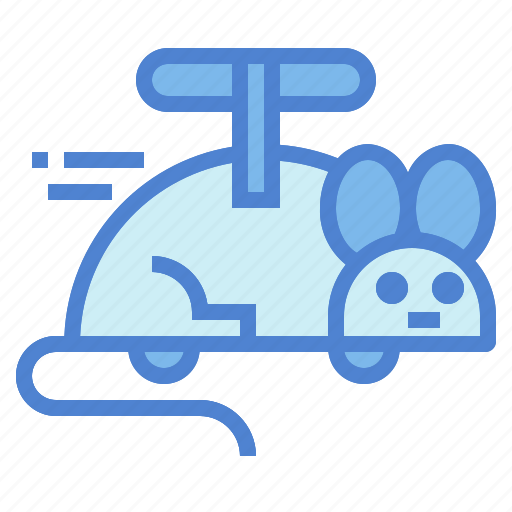 animals, kid, mouse, toy icon