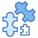 game, hobbies, piece, puzzle, toy icon