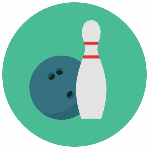 Bowling, ball, games, pin, toys icon