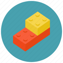 games, leggo, pieces, toys icon