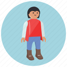 doll, games, mobile, play, toys icon