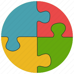 games, pieces, puzzle, toys icon