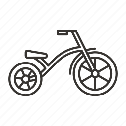 bicycle, bike, child, cycle, cycling, toy, transport icon