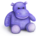bear, rhino, teddy, toy icon