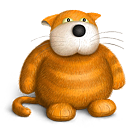 cat, teddy bear, toy icon