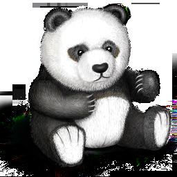 bear, panda, teddy, toy icon