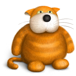 Cat Teddy Bear Toy Icon