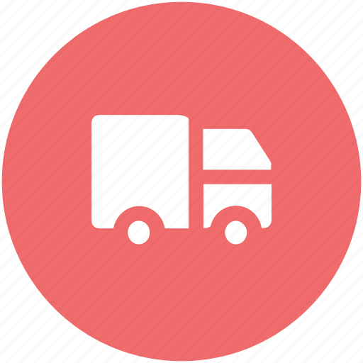 delivery service, delivery van, distribution, shipment, shipping van, transport, vehicle icon